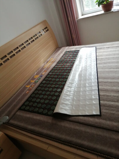 玉生缘双温双控天然玉石床垫电加热远红外网状防水布玉石床垫韩国火炕 1.8*2.0米 晒单图