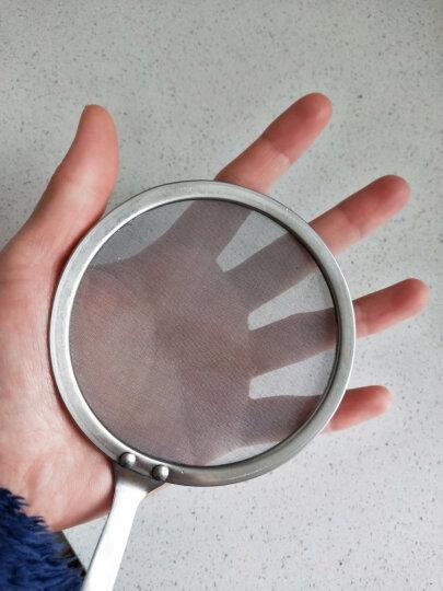 吉睿 厨房DIY/小工具 厨宝系列 不锈钢多功能过滤网漏勺笊篱油隔 CP3033 晒单图