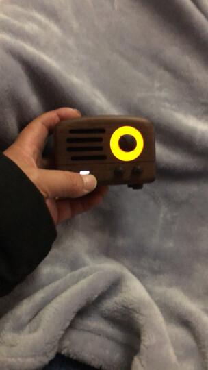 猫王收音机 小王子 胡桃原木便携无线蓝牙音箱蓝牙音响 平装标准版 晒单图
