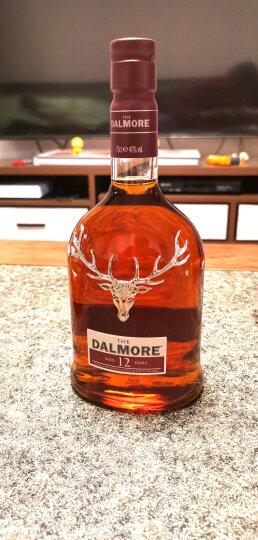 大摩(帝摩)(The Dalmore) 洋酒 雪茄三桶 英国 单一麦芽 威士忌700ml 晒单图