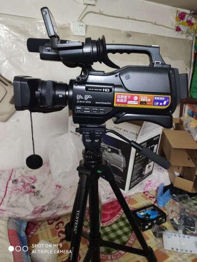 索尼(SONY)HXR-MC2500肩扛式高清数码摄录一体机 婚庆 会议专业数码高清摄像机2500C 黑色 套餐五 晒单图
