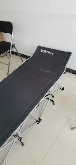 瑞仕达 Restar 棉垫办公室午休折叠床搭配灯芯绒透气棉垫 防滑防溜折叠床床垫 晒单图