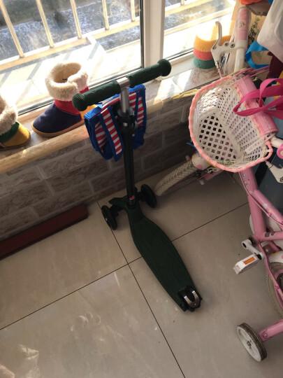 瑞士micro迈古米高儿滑板车 经典maxi 可调节高度 可拆卸车杆 5岁及以上大童滑板车迈古 军绿色 晒单图