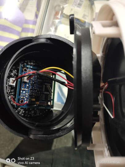 监控摄像头模拟室内高清夜视半球摄像机家用视频录像安装监控设备音频监控摄像头探头 8MM 晒单图