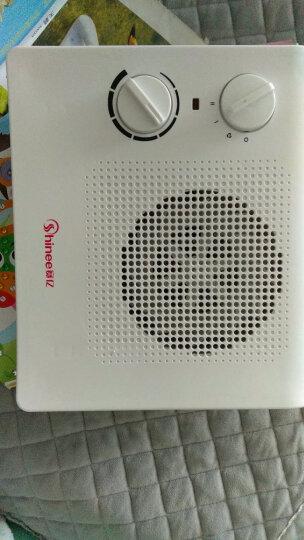 赛亿(Shinee)取暖器/电暖器/电暖气/暖风机家用 节能省电 卧室办公室台立式迷你热风机烤火炉加热器HN2318PT 晒单图