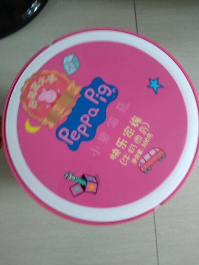 小猪佩奇 Peppa Pig 快乐家族 曲奇礼盒桶 牛奶蔓越莓 新年鼠年2020儿童饼干礼盒 500g 颜色随机发货 晒单图