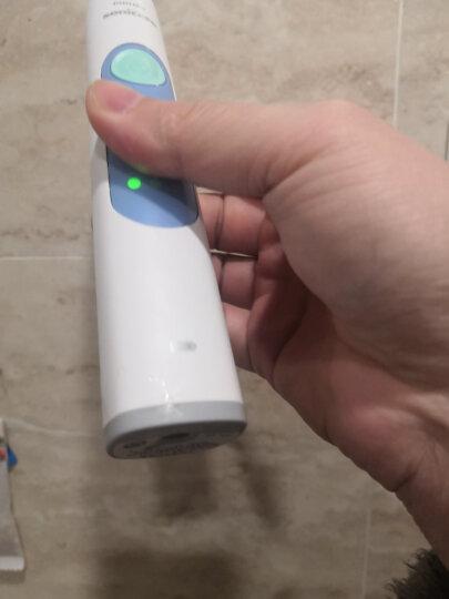 飞利浦(PHILIPS) 电动牙刷 成人声波震动(自带刷头*2+牙刷盒) 牙龈护理 HX6616/50 晒单图