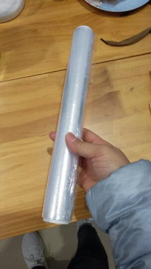 妙洁中号手提背心式保鲜袋200只 背带型塑料保险食品袋子厨房超市一次性用品 晒单图