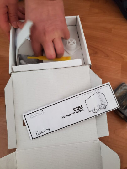 瑞士风/博瑞客空气加湿器 家用卧室迷你办公室静音U7146便携旅行BONECO 土豪金色(限量版) 晒单图
