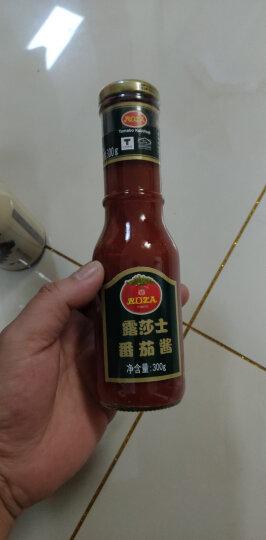 露莎士Roza进口酱料黑胡椒酱番茄酱即食黑椒牛排酱意大利面酱调味料3瓶组合880G 晒单图