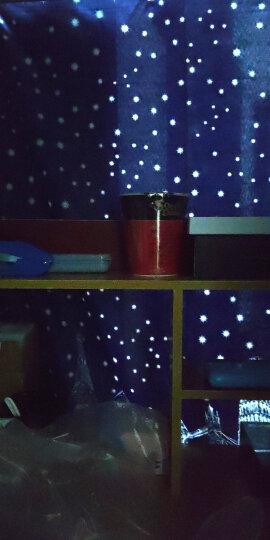 奇货居 宿舍床帘下铺上铺大学生遮光布男生女寝室简约透气蚊帐 4.欢乐鱼1.5米高 3片加顶(全封闭) 晒单图