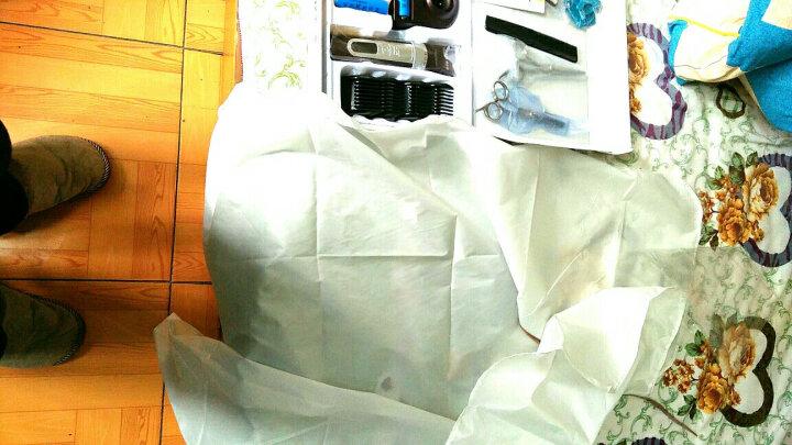 奥克斯(AUX)剃头理发器电推剪 成人儿童 电推子理发剪剃头刀推剪电动剪发器小孩剃光头电剪理发推子 珍珠白【套餐一】单电池+单刀头 晒单图
