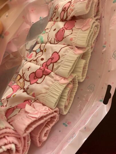 凯蒂猫儿童内裤纯棉宝宝小女孩少女童5条装三角平角四角底裤短裤头 KTN290花色120/M 晒单图