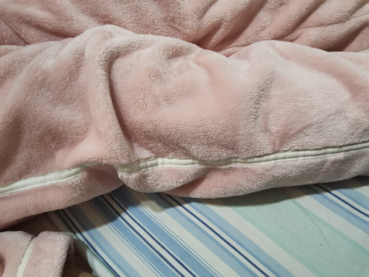 芬腾 珊瑚绒女士睡衣简约大方翻领开衫家居服套装睡衣女冬H9446536  桔色 M 晒单图