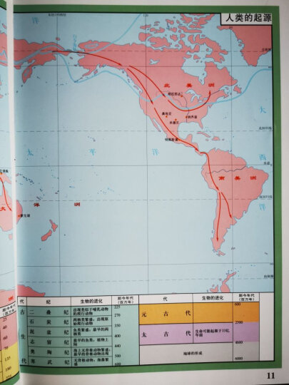 世界历史地图集 晒单图