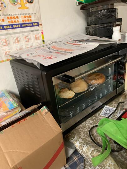 格兰仕(Galanz)家用电器多功能大烤箱38升容量广域控温专业烘焙烘烤蛋糕面包KWS1538J-F5M 晒单图