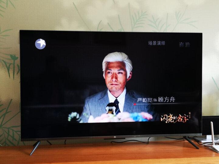 小米电视4 55英寸 4K超高清 HDR 4.9mm超薄 蓝牙语音遥控 2GB+8GB 人工智能语音网络液晶平板电视 L55M5-AB 晒单图