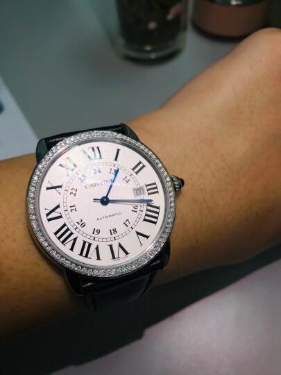 【二手99新】未使用 卡地亚手表 男表 伦敦SOLO 表径42mm vvs级后镶钻 2020年全套 晒单图