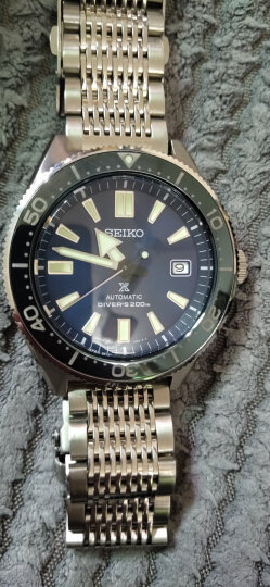精工(SEIKO)手表 PROSPEX户外系列航空标尺复古防水运动夜光自动机械表男表SRPB59J1 晒单图