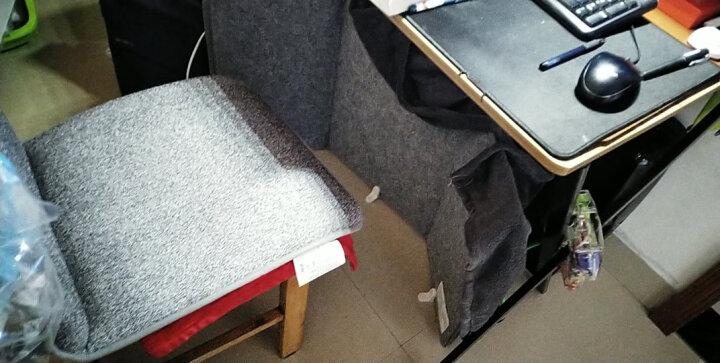 昕科加热坐垫电热垫暖脚宝电暖宝暖脚神器电热暖手宝办公室全身发热椅垫暖腰靠 美食熊本熊-暖身垫 晒单图