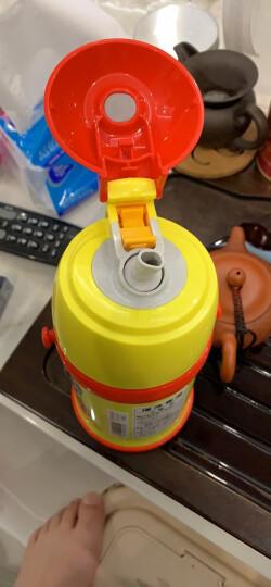 日本进口 象印(ZOJIRUSHI)水杯儿童保温杯男女学生运动水杯户外便携保温水杯壶ST-ZG45A 黄色450ML面包超人 晒单图