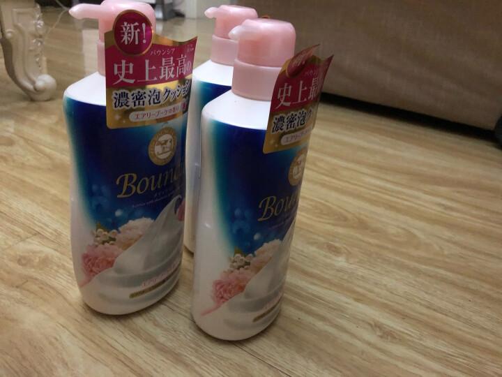 日本进口 牛乳石硷 牛牌 (COW)牛乳石碱 美肤润滑牛奶玫瑰沐浴露 500ml (滋润保湿 顺滑肌肤) 晒单图
