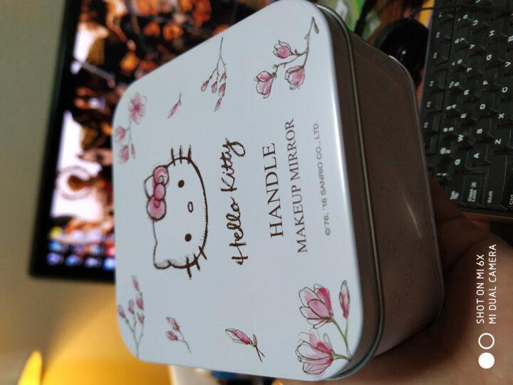 HELLOKITTY樱花系列化妆镜 浪漫创意礼物生日礼品七夕情人节礼物 礼品盒包装手提袋KT1602 晒单图