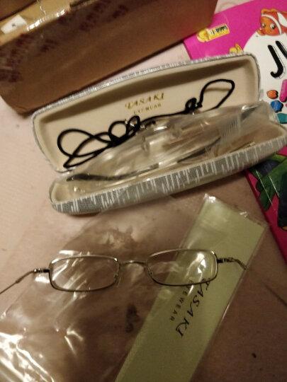 田崎TASAKI老花镜男款轻便高清折叠老人眼镜女款老花镜 单款300度 晒单图
