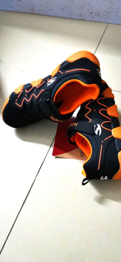 哈比熊童鞋男童鞋春秋款女童鞋子中大童儿童运动鞋休闲鞋跑步鞋 西瓜红 28码/18.0cm内长 晒单图