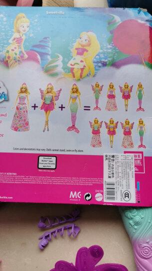 芭比(Barbie) 女孩娃娃玩具 芭比娃娃之童话换装组 DHC39 晒单图