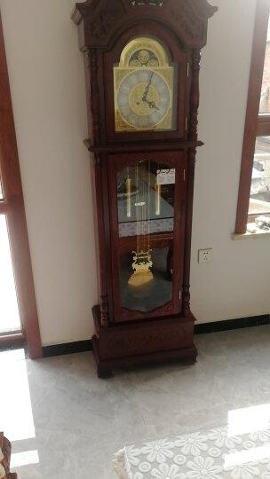 汉时(Hense)德国赫姆勒机芯落地钟欧式实木座钟客厅立钟经典大气复古机械钟表HG2188 HG1188德国14天(红木色) 晒单图