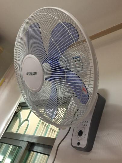 艾美特(Airmate)电风扇 壁扇 工业风扇 五叶遥控 3档风量 FW4035R 晒单图