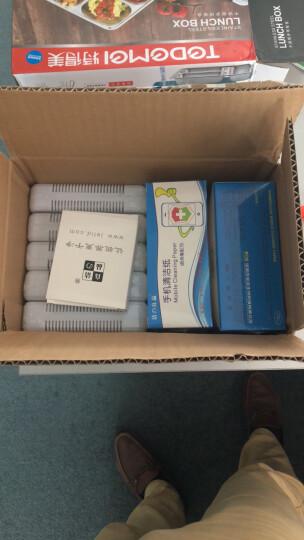 洁の良品一次性手机消毒纸屏幕清洁湿巾平板电脑手机屏幕清洁杀菌湿巾纸除油去污消毒湿纸巾100片速干 2盒 晒单图