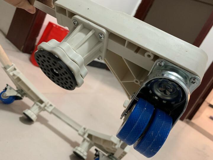 贝石 洗衣机底座 通用加高洗衣机架底座架支架圆柱空调冰箱底座架子海尔美的小天鹅西门子 双管12大地脚 晒单图