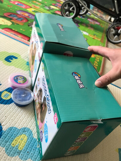 培培乐橡皮泥彩泥粘土儿童节礼物玩具太空沙泥巴 36色轻泥 宝宝美术手工课DIY制作安全超轻黏土模具工具套装 晒单图