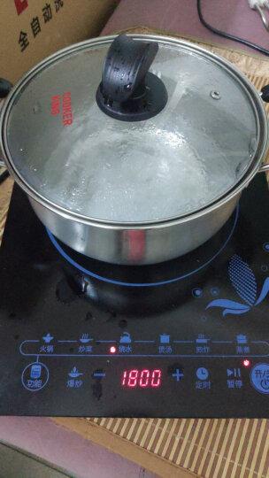 炊大皇汤锅304不锈钢加厚20cm无涂层炖汤煲汤锅电磁炉通用WG14726 晒单图