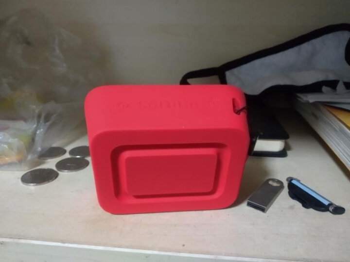 飞利浦(PHILIPS)BT110 音乐魔盒无线蓝牙音箱 便携迷你 低音炮 防水户外运动 免提通话 蓝色 晒单图