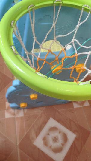 诺澳 塑料宝宝卡通书柜 幼儿园绘本架 书架儿童图书架(蓝色款) 晒单图