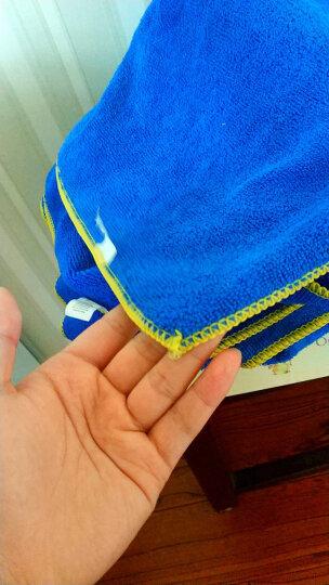 米其林洗车毛巾加厚吸水不掉毛汽车擦车巾加细纤维大号抹布套装 40*120三条装 晒单图
