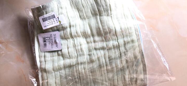 迪士尼(Disney)毛巾家纺 维尼熊幸福全家纱布方巾 口水巾 A类纯棉 婴儿童挂式小毛巾 可记名 黄色34*34cm 晒单图