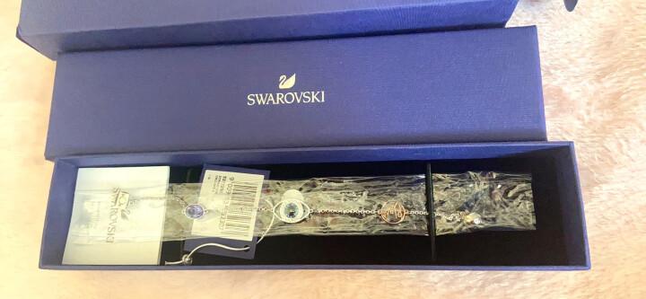 【七夕情人节礼物】施华洛世奇 银色小花造型 隐形磁扣 手链女 时尚饰品 女友礼物 5373242 晒单图