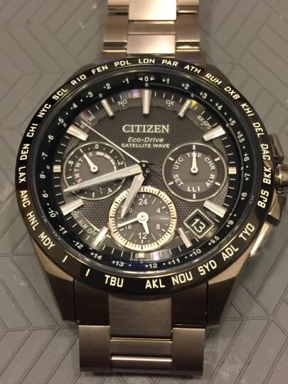 西铁城(CITIZEN)手表 光动能卫星对时不锈钢男表CC3001-51L 晒单图