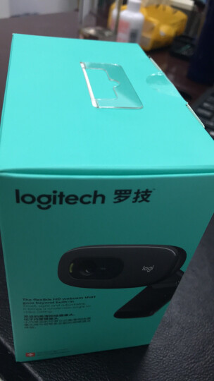 罗技(Logitech)C170/C270/C310高清网络摄像头  带麦克风台式机电脑摄像头 C270(HD720P) 晒单图