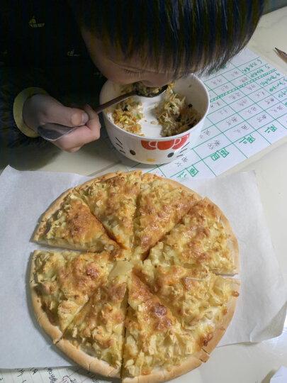 俏侬 披萨饼底 20cm 6片装 780g/盒 (9寸烤盘适用)西式烘焙 冷冻 晒单图