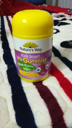 佳思敏Nature's Way澳萃维儿童复合维生素蔬菜软糖  60粒 儿童多种维生素 2岁以上 晒单图
