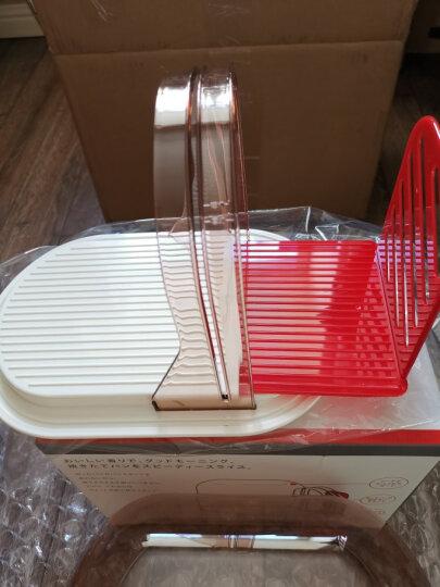 家の物语(KATEI STORY) 日本进口面包切片器切面包器 土司切割器架附面包刀 晒单图