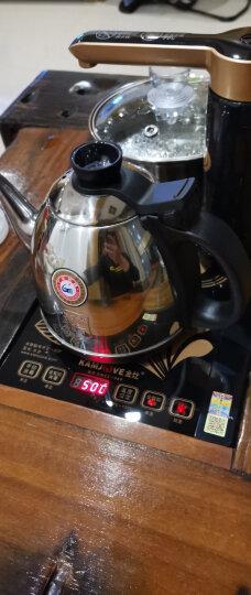 金灶(KAMJOVE) 全智能自动上水电热水壶 电茶壶 自动茶具电茶炉 茶具泡茶壶 K9 晒单图