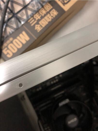 乔思伯(JONSBO)V4 银色 MINI-MATX机箱(支持MATX主板/全铝机箱/ATX电源/120MM高内散热器/260MM长内显卡) 晒单图