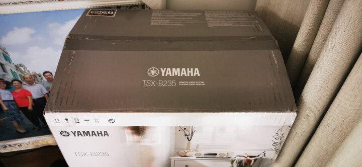 雅马哈(Yamaha)TSX-B235 音响 音箱 CD机 USB播放机 迷你音响 无线蓝牙hifi桌面台式CD音响 黑色 晒单图