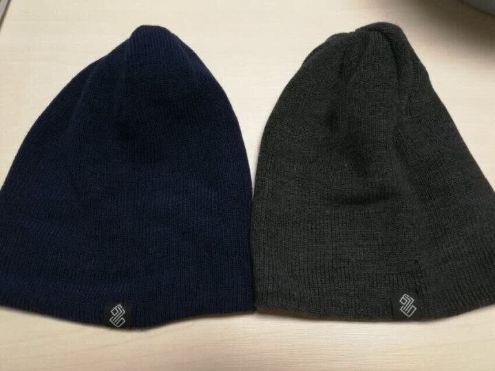 Siggi 帽子男冬天韩版潮时尚针织帽毛线帽加厚加绒防风套头帽 黑色(帽子+围脖套件) 57.5CM有弹性 晒单图
